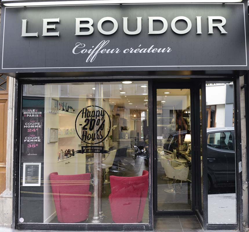 le Boudoir Paris, salon